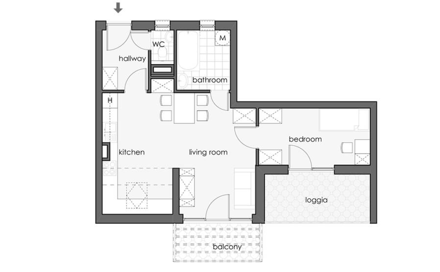 29 - Third Floor - Turquoise Apt_898x556