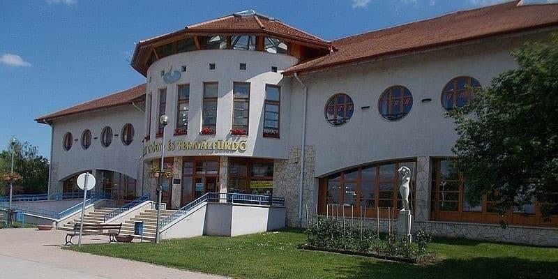Agárd Spa and Thermal Bath - entrance (Photo: Velence Vivaldi Residence)