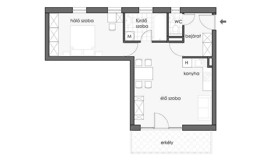 20 - First Floor - Red Apt - HU_898x556